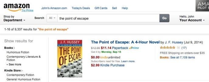 Amazon P.O.E. Search Results